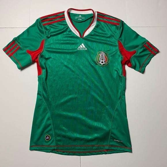 Adidas Mexico Soccer Jersey 2010-12
